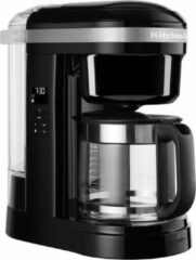 Zwarte KitchenAid 5KCM1208 Filterkoffiezetapparaat 1,7 l Half automatisch