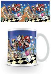 Witte Nintendo Super Mario Art Mok
