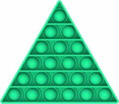 KJG Pop It Fidget - Pop Bubble - Driehoek - Lichtgroen
