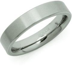 Zilveren Boccia Titanium 0120-03 Ring - Titanium - Zilverkleurig