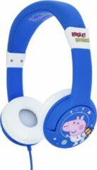 Blauwe Peppa Pig - Junior Bluetooth koptelefoon
