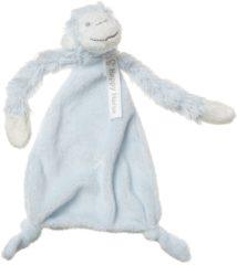 Blauwe Happy Horse Monkey Mickey Knuffeldoekje Blue