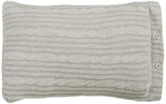 Grijze Riviera Maison Rivièra Maison Winter Knit Sierkussen 30 x 50 cm
