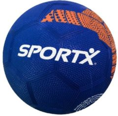 Blauwe SportX Voetbal Rubber Orange Triangle 360-380gr