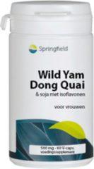 Springfield Wild Yam / Dong Quai Capsules