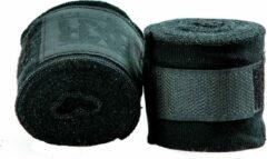 Bandages voor bokshandschoenen BXR | zwart | 2,5 meter