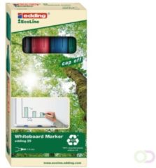 Edding Ecoline Viltstift edding 29 whiteboard Eco schuin ass 1-5mm à 4st