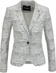 Witte VIVANCE, Dames Blazers, zwart / wit
