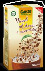 GIULIANI SpA Giusto Muesli All'Avena E Cioccolato Senza Glutine 300g