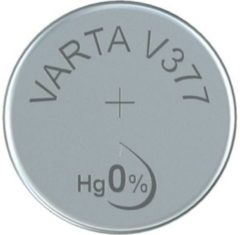 377 Knoopcel Zilveroxide 1.55 V 21 mAh Varta Electronics SR66 1 stuks