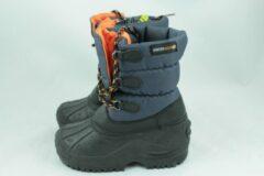 Snowboot D.blauw-oranje