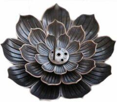 DW4Trading® Wierook houder lotus vorm 10cm
