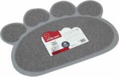 M PETS MPETS Paw Wastafel Home Runner - voor katten - 60x45cm - grijs