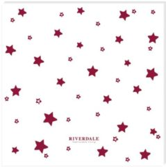 Riverdale Stars - Servet - 33cm - rood