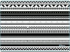 Muismat artistiek zwart/wit - Sleevy