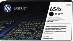 Zwarte HP 654X - Tonercartridge / Zwart / Hoge Capaciteit