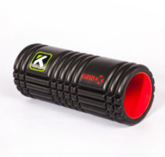 Zwarte Triggerpoint Trigger Point The Grid X - Foamroller - Zwart