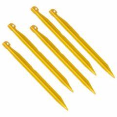 Gouden Exped - V-Peg - Haring maat 16 cm - 5-Pack, gold