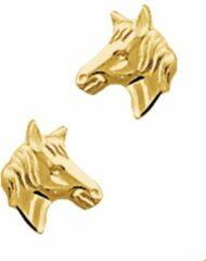 Gele Kasius Huiscollectie 4001022 Gouden Paarden Oorbellen