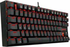 Rode K552 Redragon Gaming Toetsenbord met verlichting | Anti-Ghosting Mechanisch toetsenbord met verlichting & vergulden USB connector