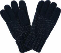 Luminosity reflecterende, gebreide handschoenen van Regatta voor kinderen, Wintersporthandschoenen, marineblauw