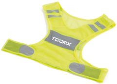 Gele Toorx Fitness Toorx Veiligheidsvest / Hardloopvest - Reflecterend - Unisex - One Size Fits All