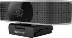 Sandberg 134-28 webcam 8,3 MP 3840 x 2160 Pixels USB 2.0 Zwart