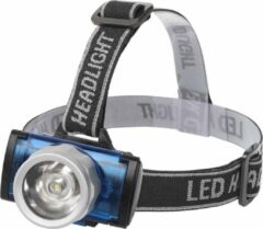 LED Hoofdlamp - Aigi Scylo - Waterdicht - 50 Meter - Kantelbaar - 1 LED - 1.6W - Zwart | Vervangt 7W - BSE
