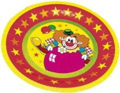 Haza Original Feestborden Clown 23 Cm 8 Stuks
