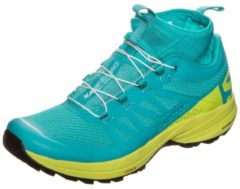XA Enduro Trail Laufschuh Damen Salomon ceramic / lime punch / black