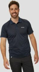 Marineblauwe Regatta remex ii outdoor polo blauw heren