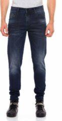 Blauwe Cipo & Baxx Slim fit Broek Maat W36