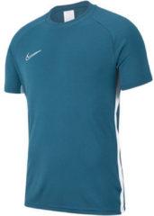 Nike dri-fit academy19 voetbalshirt blauw heren