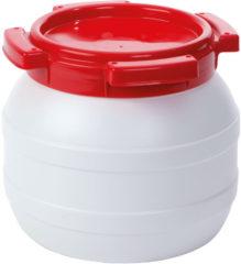 Curtec Waterkluisje - 3,6 Liter - Water- en luchtdicht - Wit/Rood