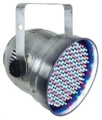 Showtec LED PAR 56 SHORT ECO SILVER LED PAR-schijnwerper Aantal LED's: 153 x