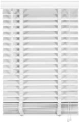 Witte Woonexpress jaloezie HOUT 200x210