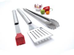 Weber GrillPro 3-teiliges Besteck für Grill 40035
