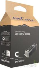 WeCare Cartridge voor Canon PGi-570XL - zwart - 25ml