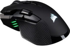 Corsair Ironclaw RGB - Draadloze Optische Gaming Muis - 18000 DPI - Zwart