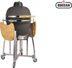Zilveren Buccan BBQ - Sunbury Smokey Egg - Large - Zwart