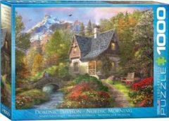 Eurographics puzzel Nordic Morning - Dominic Davison - 1000 stukjes