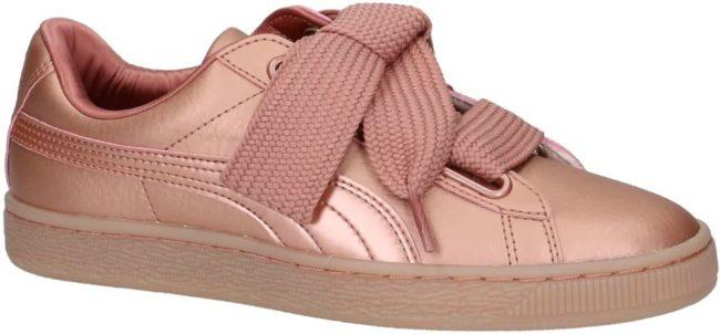 Afbeelding van Puma - 365463 - Sneaker laag sportief - Dames - Maat 38,5 - Roze - 01 -Copper Rose