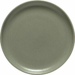 Costa Nova - servies - ontbijtbord Pacifica groen - aardewerk - set van 6 - 23 cm rond