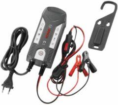 Zwarte Bosch acculader C3 6/12 Volt 1,2 120 Ah 4 Ampère zwart