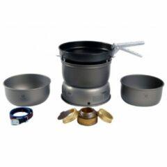 Grijze Trangia Kookpit 25-3 Ultralight HA Aluminium Non-stick Pannen