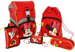 Sammies by Samsonite Ergonomic Schulranzen-Set 5-tlg Disney Minnie Sammies by Samsonite 00 minnie rocks the dots