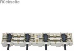 Privileg Kochplattenschalterblock 4er-Einheit EGO 41.44723.003 (4-facher Siebentakt-Schalterblock, zur Regulierung (Stufenschaltung) der Kochfeld-Kochplatten) Herd 4144723003