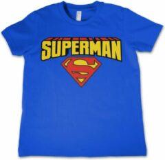 Superman t-shirt voor jongens/meisjes - Film/serie merchandise voor kinderen 140 (L 9/11)