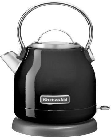 Afbeelding van Zwarte KitchenAid Artisan waterkoker 1,25 liter 5KEK1222EOB