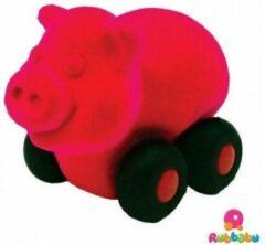 Rubbabu - Micro Aniwheelie Pig (Pink)